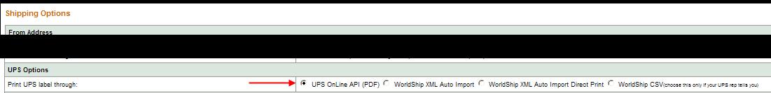 UPS Online API (PDF) | Teapplix Help
